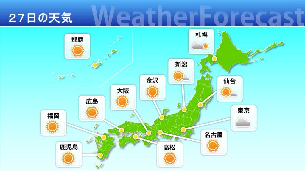 天気予報 全国