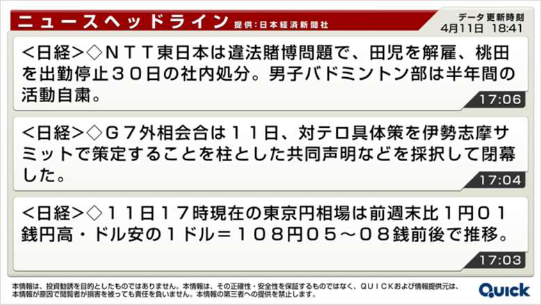 日経ニュース